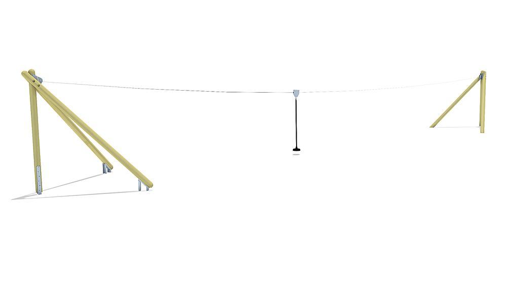 kabelbaan Montana 20 m voor heuvelinbouw