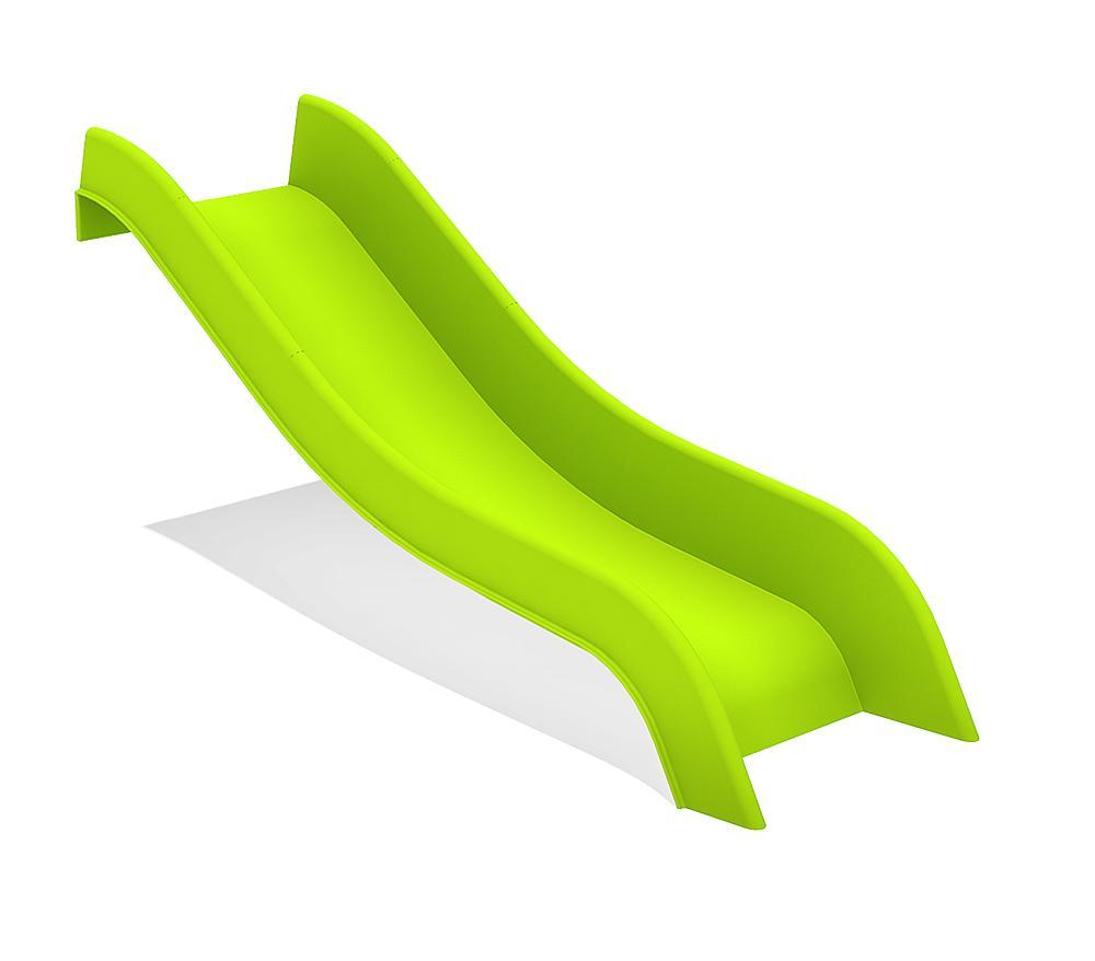 Aanbouwglijbaan ph 60 cm