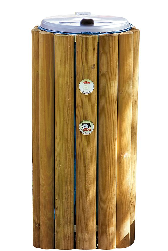 Afvalbox hout