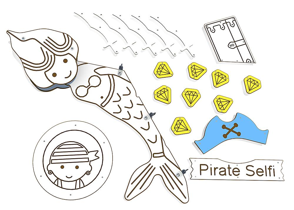 decoratieset piraten voor Primo Victoria