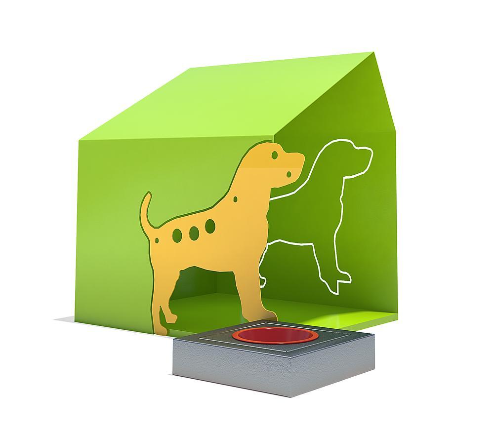 Hondendrank met hut