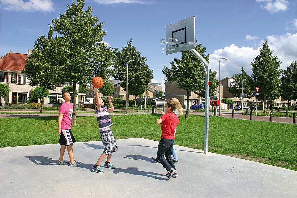Basketbaltoestel Robuust