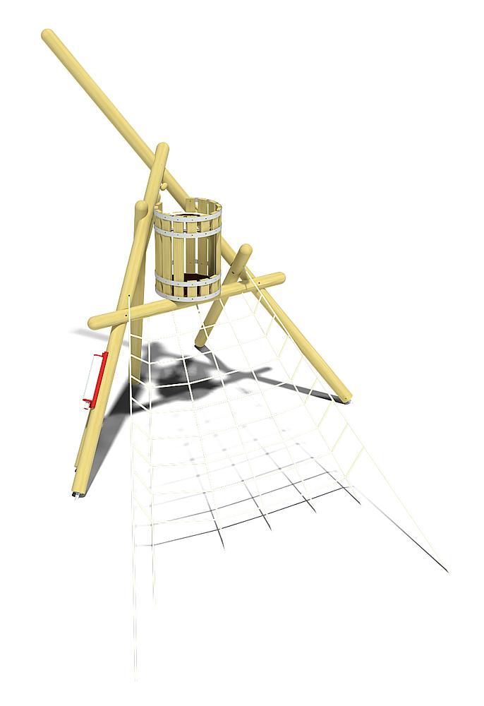 zandwrak Bounty mast