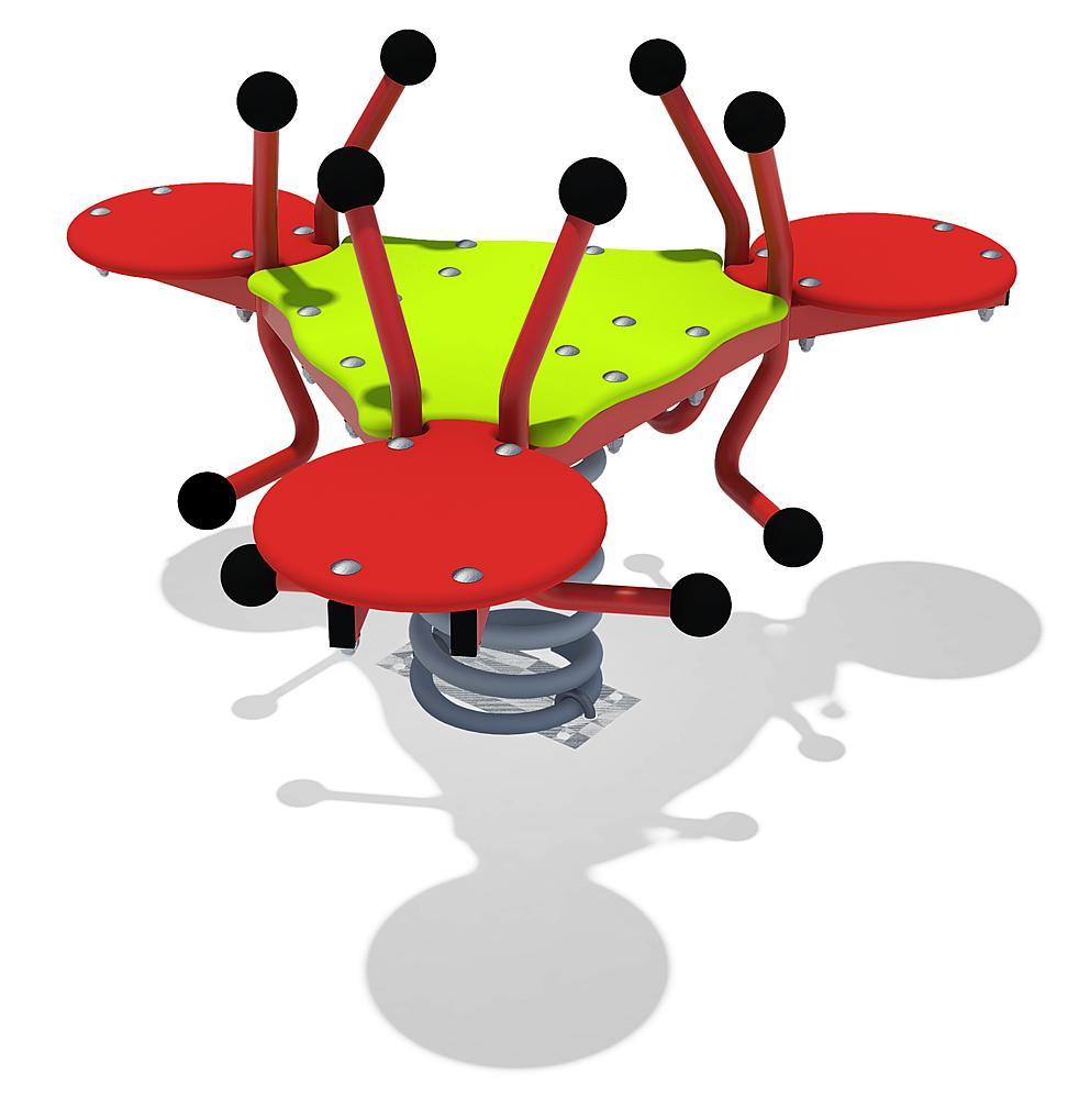 Driehoeksveerwip vliegende Kevers
