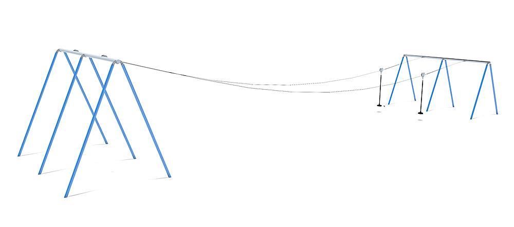 dubbele kabelbaan Fjall 20 m