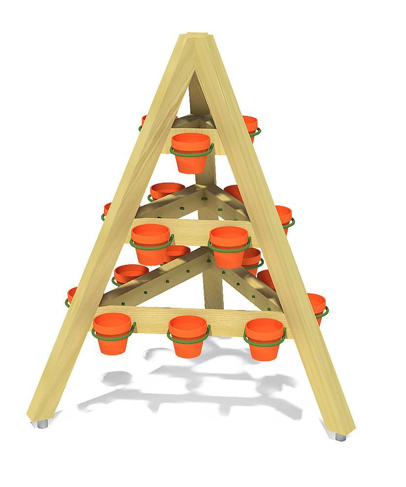 potten pyramide Mentha