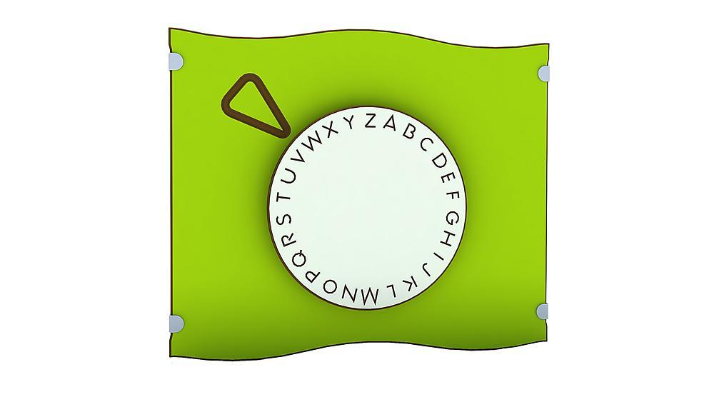 borstwering letterrad