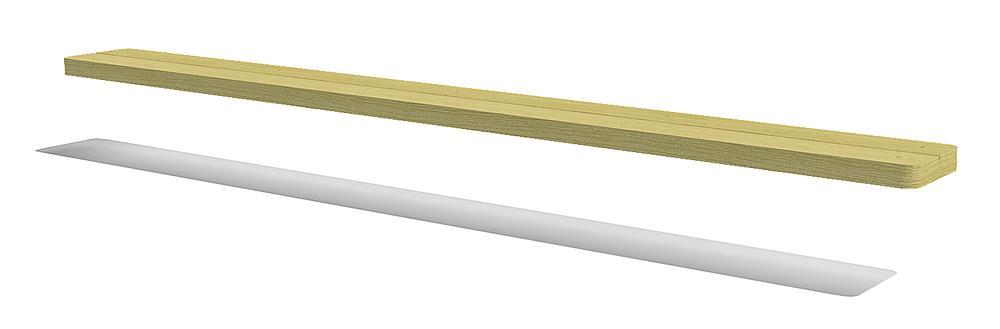 Zit- en speeltafelplank 200x20 cm