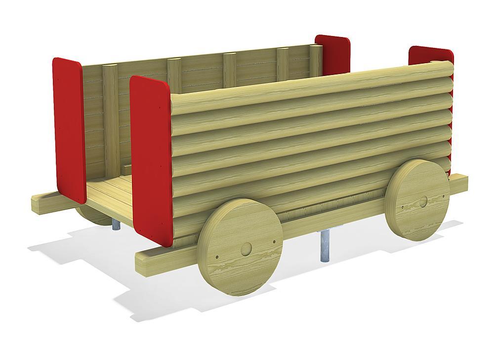grote trein Tender