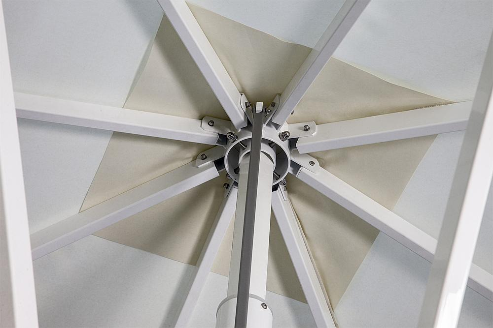 Zonnescherm vierkant 6x6 m