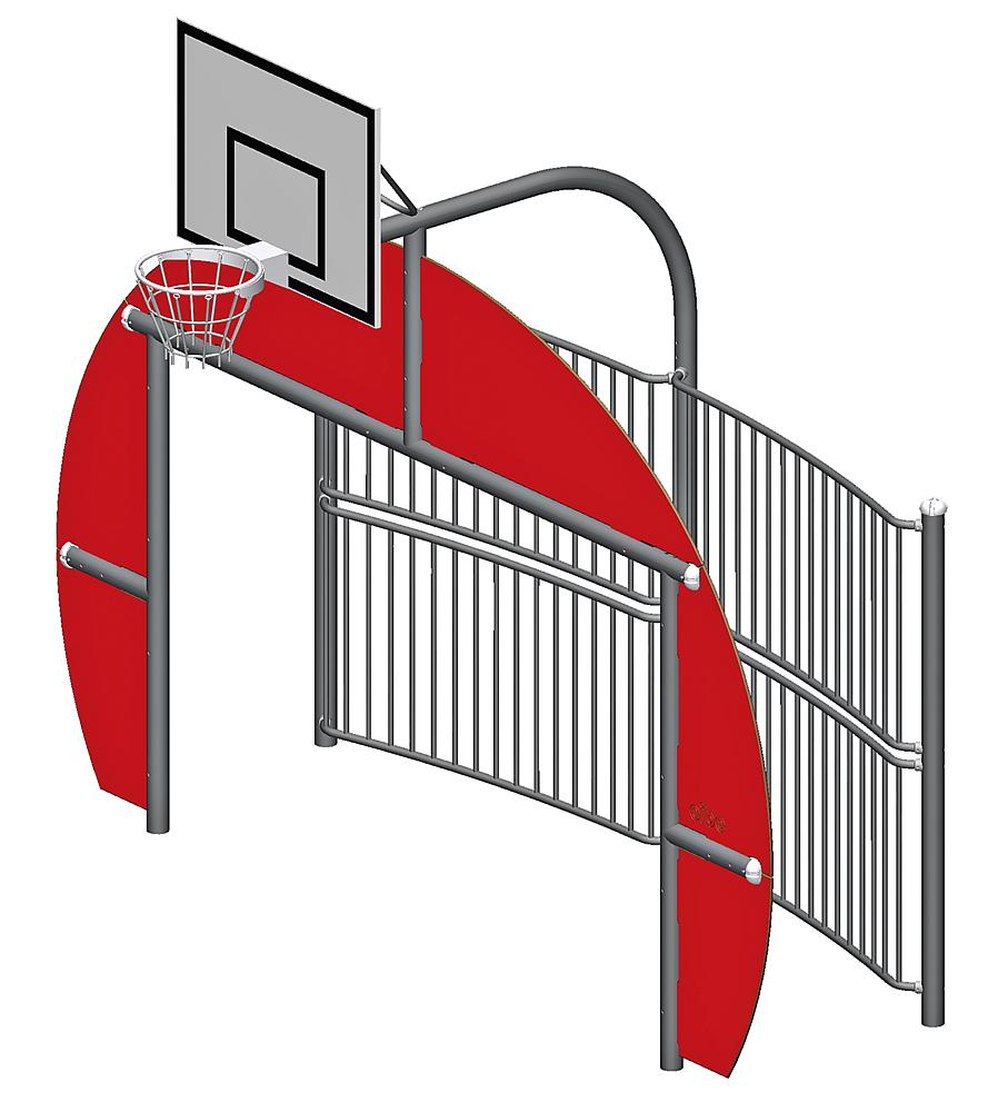 Doel-basketcombinatie Playland Flex