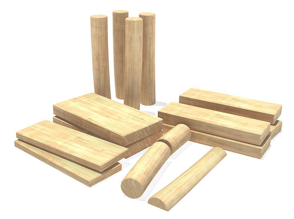 bouwblokken set smal