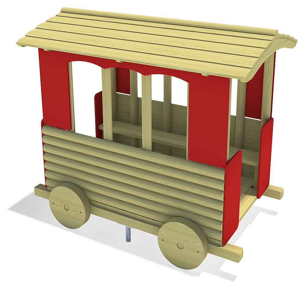 grote trein Wagon