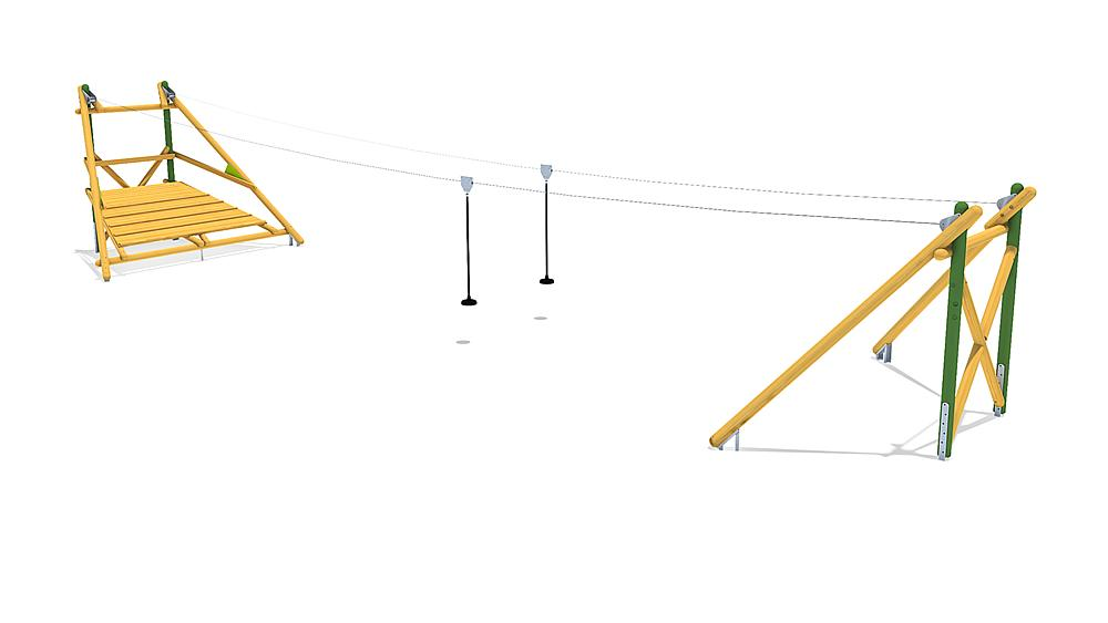 kabelbaan Sierra Duo 20 m