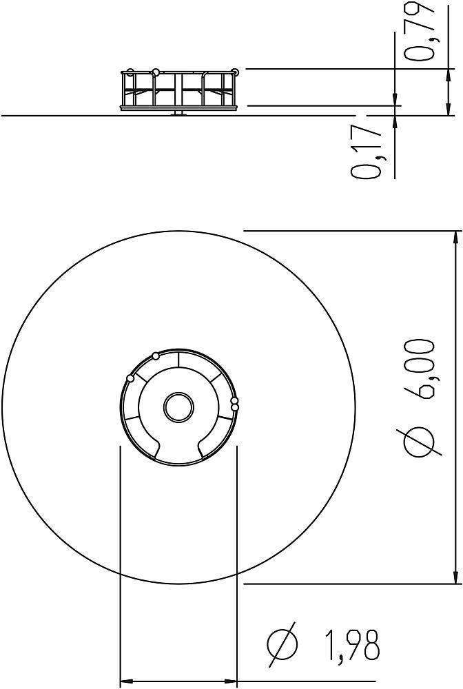 Zitcarrousel Jupiter Ø 200 cm