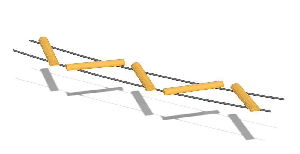 zig-zag brug overgang L3