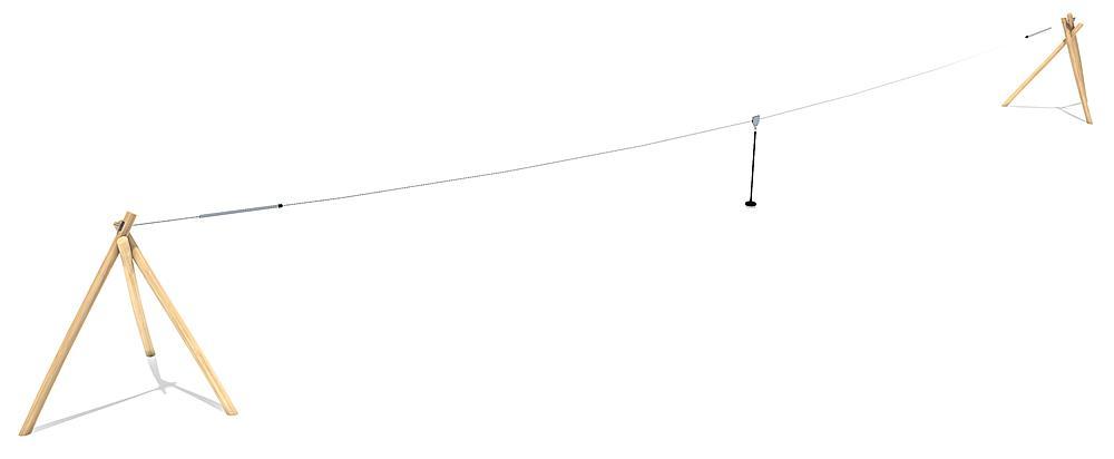 kabelbaan Bardo 30 m
