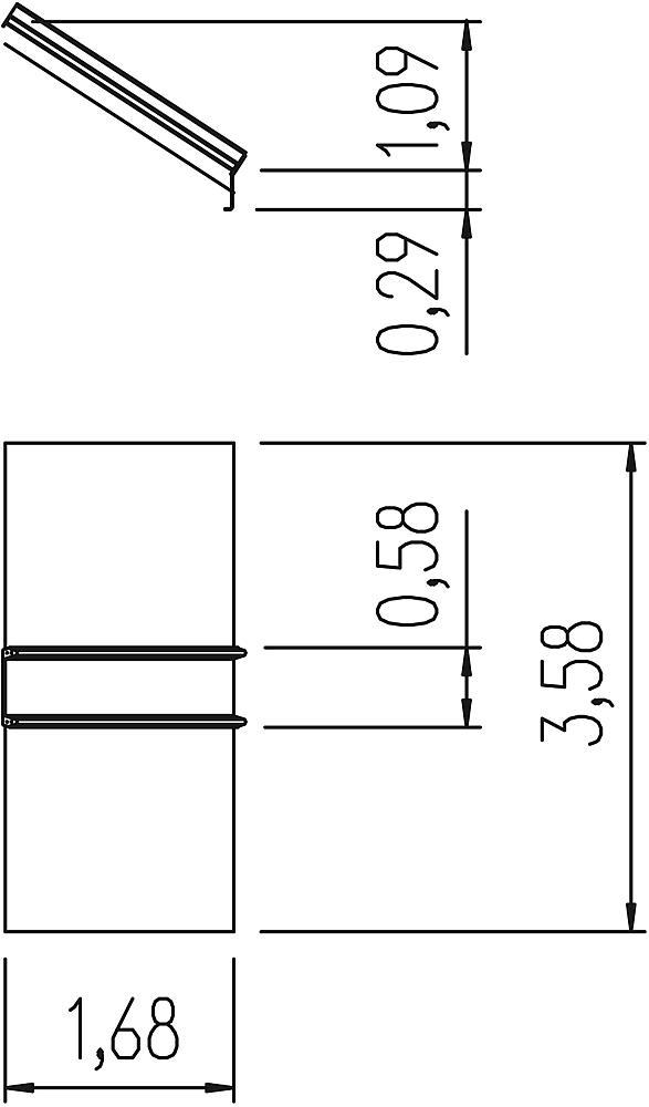 Glijbaan 200 cm