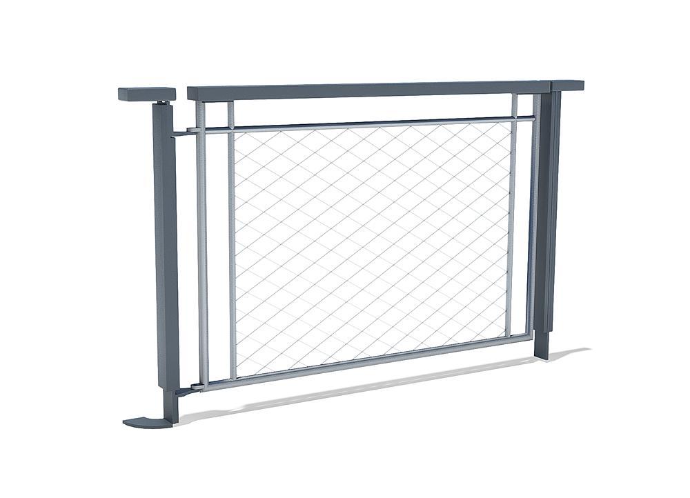 Poort voor hek