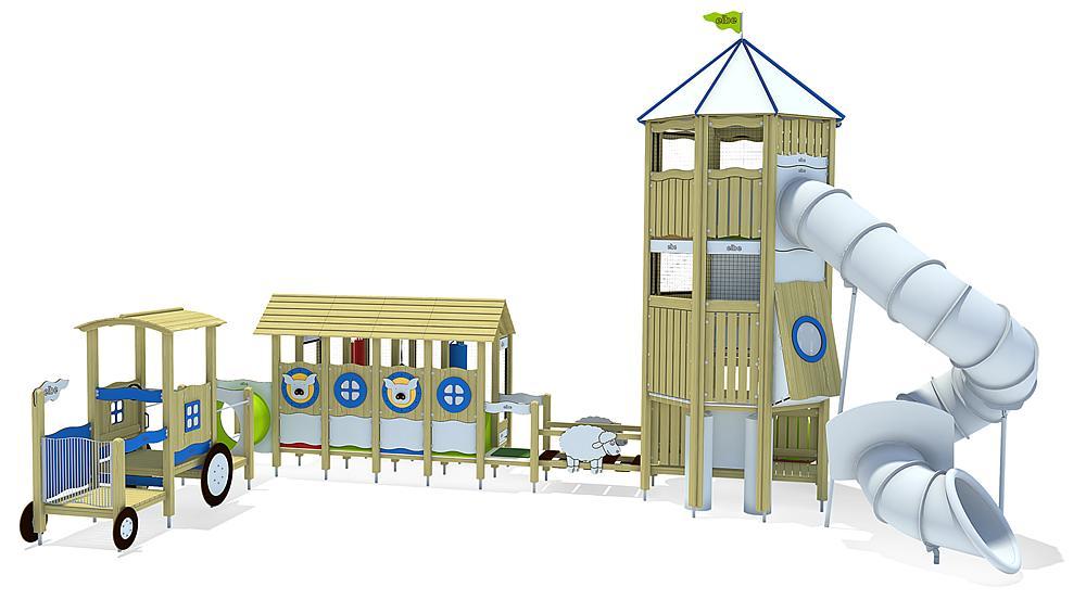 indoor speeltoestel Boerderij