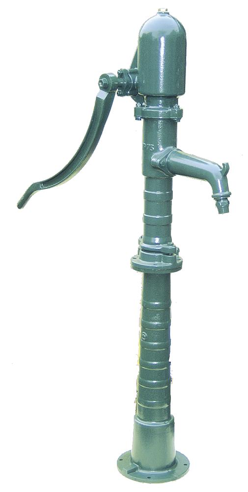 Zuig-/drukpomp voor directe aansluiting op de waterleiding