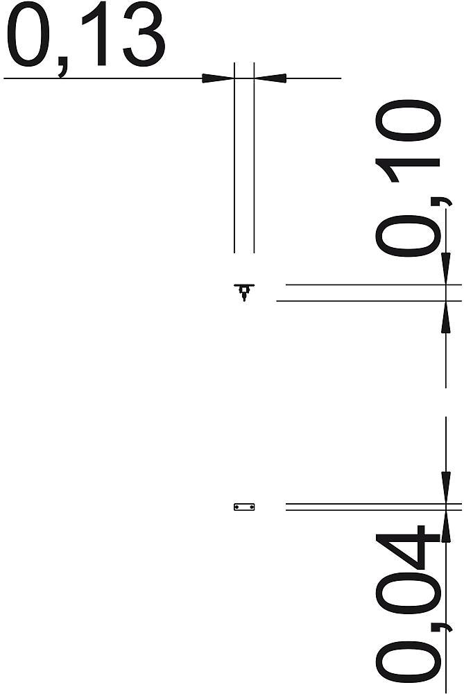 Palissade 12 lariks strekkende meter