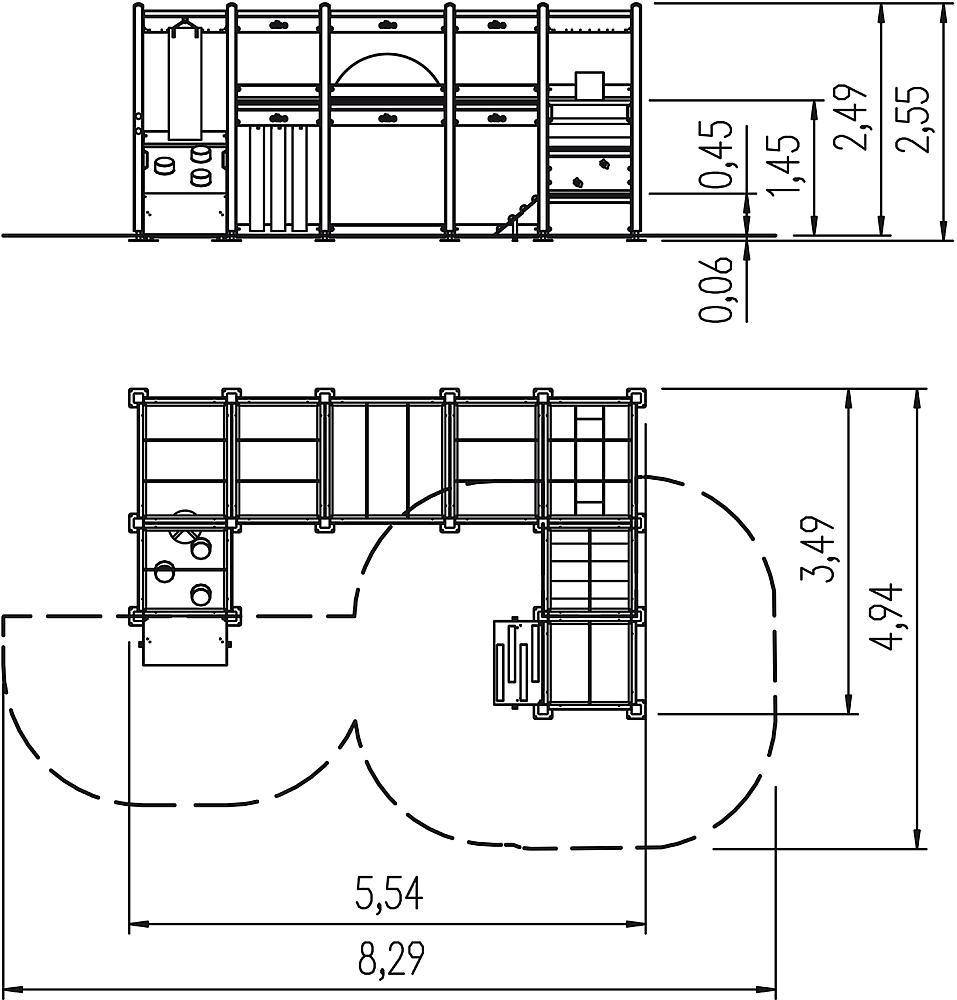 indoor speeltoestel Combinatie 02