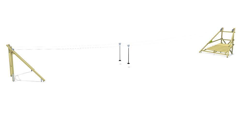 kabelbaan Sierra Duo 30 m