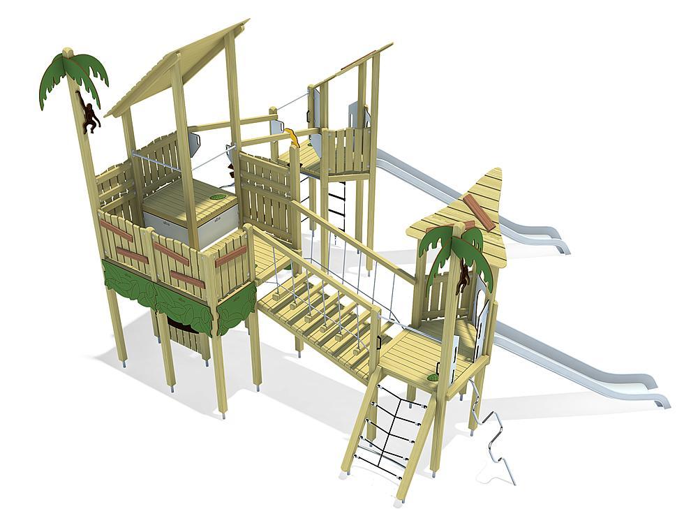 jungle speeltoestel Guayana, solo