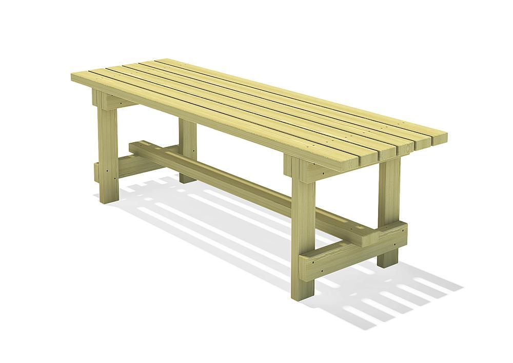 Kanthouten tafel Spessart 200