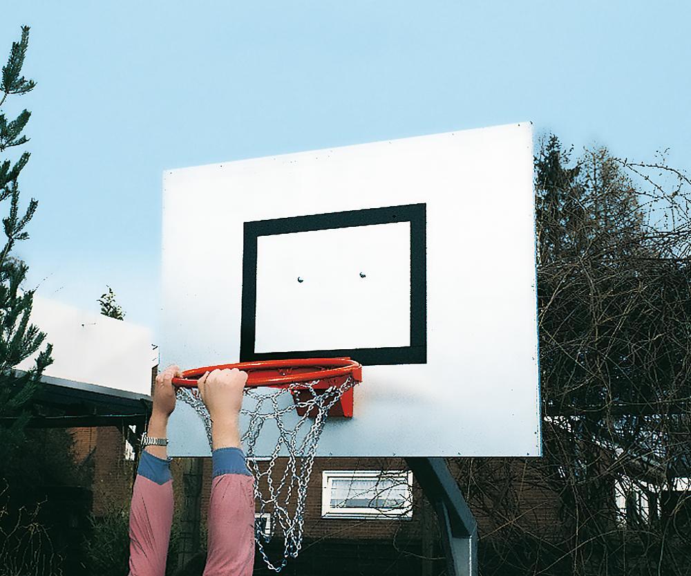 Kettingnet voor basketbalkorf