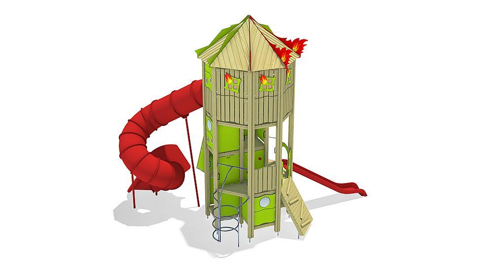 brandweer toren, solo